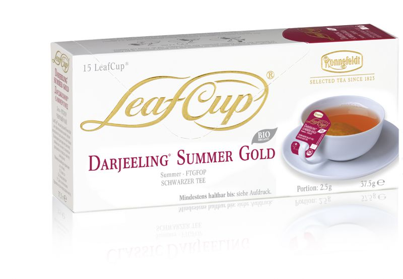 Portsjontee tassile Darjeeling Summer Gold Organic 15tk
