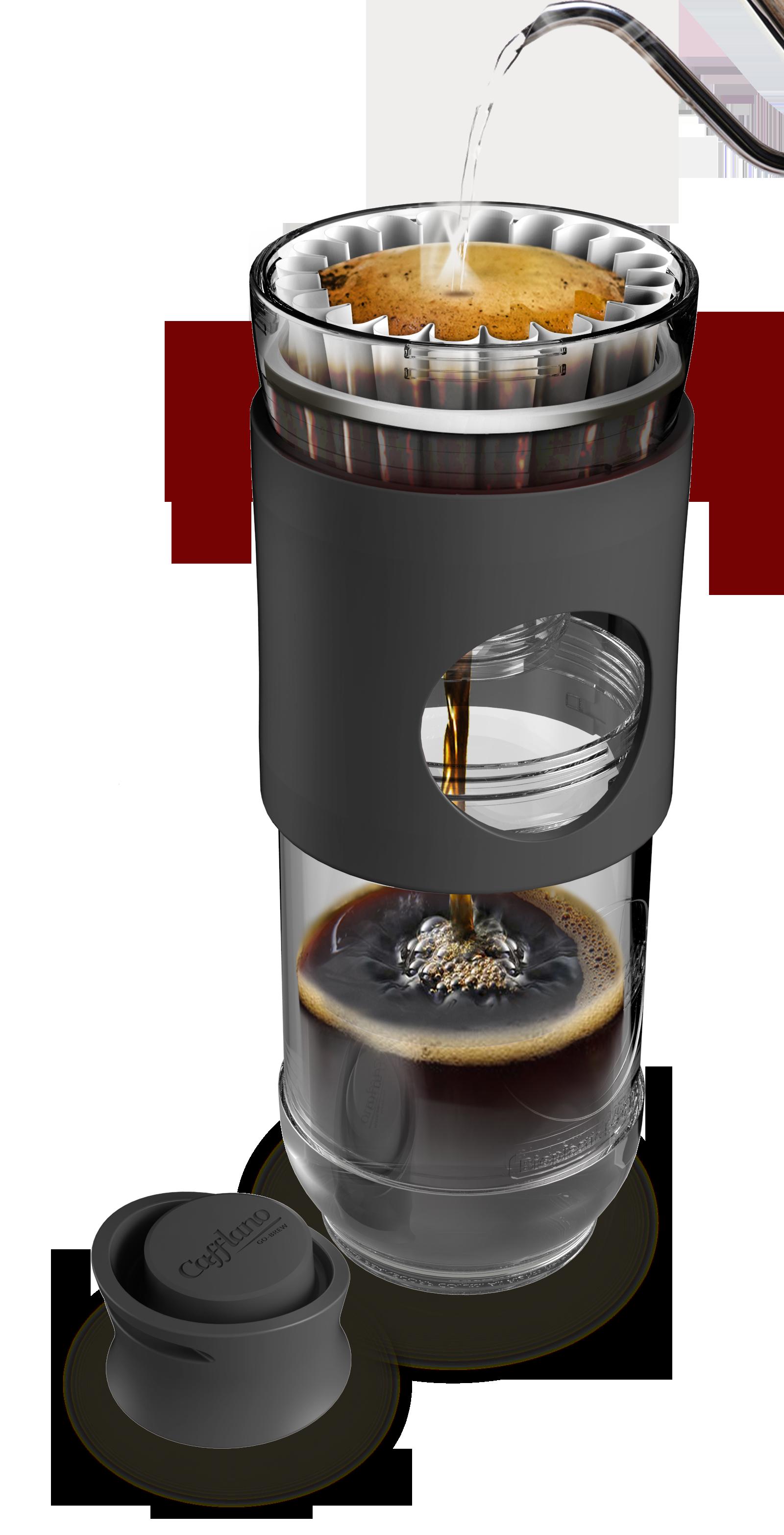 Cafflano Go-Brew - Black