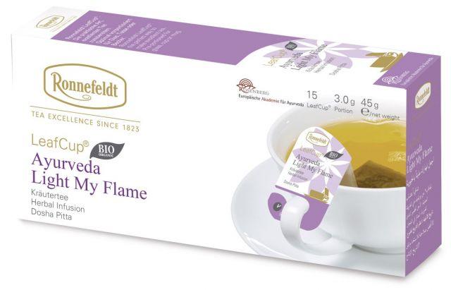 Portsjontee tassile Ayurveda Light my Flame Organic 15tk