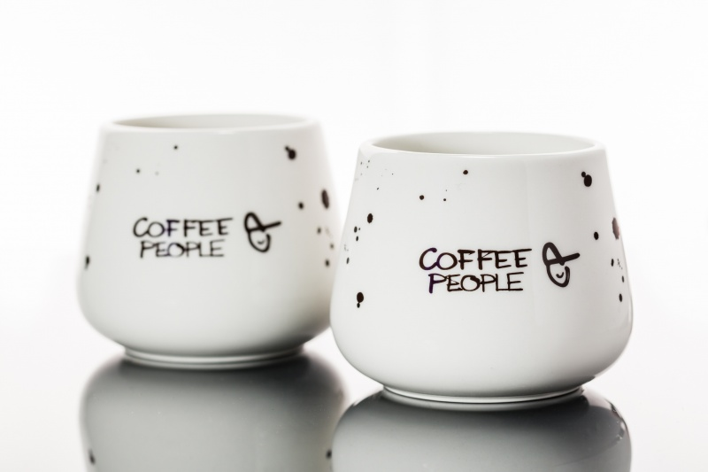 Coffee People Tass, 2 tk