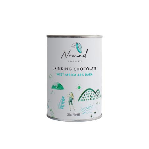 Nomad  West Africa kakao, 45% tume 0,2kg