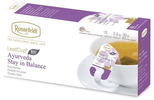 Portsjontee tassile Ayurveda Stay in Balance Organic 15tk