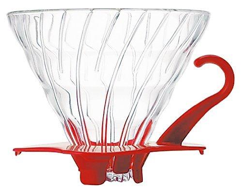 Hario filtrihoidja klaasist Punane